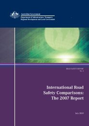 international road safety comparisons: the 2007 report