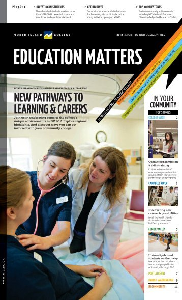 Download the pdf - North Island College