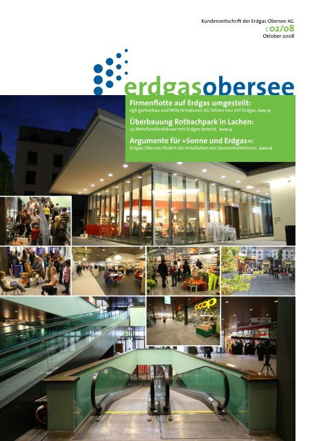 Kundenzeitschrift 2008-02 - Erdgas Obersee AG