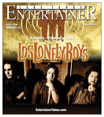 February 2012 - Lake Tahoe Entertainer