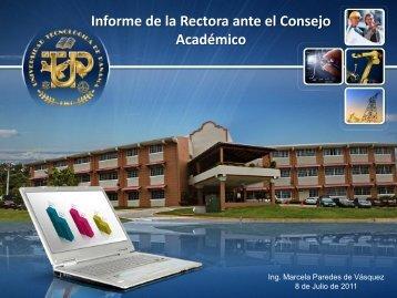 Diapositiva 1 - Universidad Tecnológica de Panamá