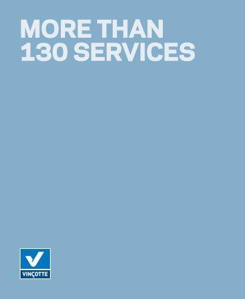 More than 130 services (download PDF) - Vinçotte Algeria