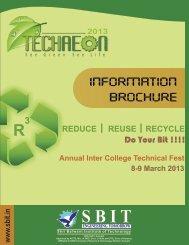 to Download TechAeon Information Brochure - Sbit.in