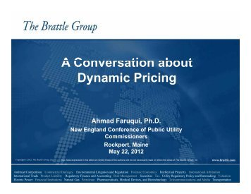 A Conversation about Dynamic Pricing - New England Conference ...