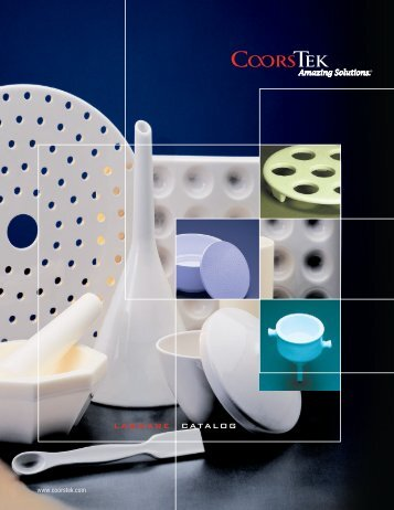 Catalog labware - CoorsTek