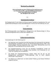 R I C H T L I N I E N - Stadtgemeinde Ternitz