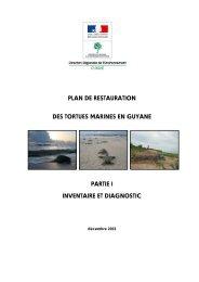Plan de Restauration des Tortues Marines en Guyane - WIDECAST