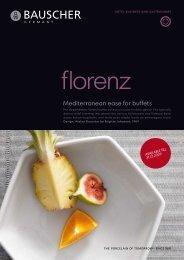 Mediterranean ease for buffets - Bauscher