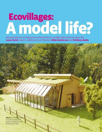 Ecovillages: A Model Life? - Global Ecovillage Network