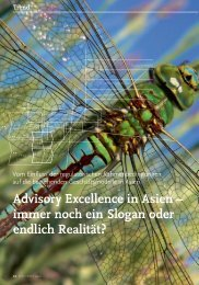 Advisory Excellence in Asien – immer noch ein ... - solutionproviders