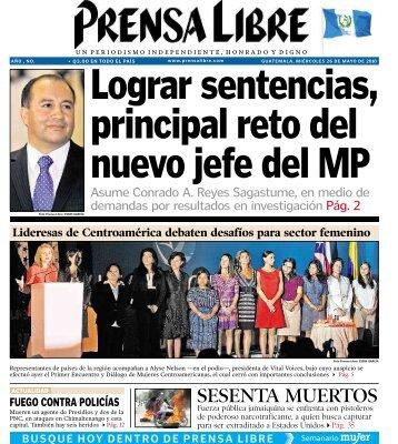 SESENTA MUERTOS - Prensa Libre