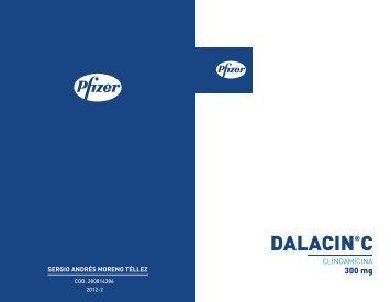 Piezas Finales Dalacin C - designblog