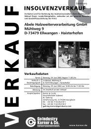 Abele Holzweiterverarbeitung Gmbh Mühlweg 9 D-73479 Ellwangen