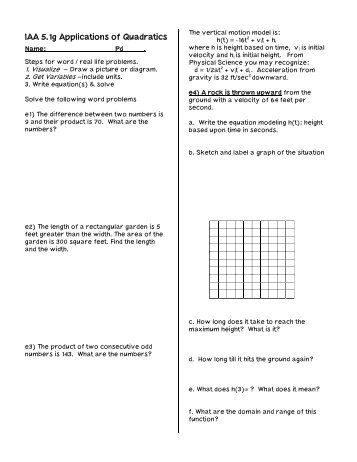 Worksheets Quadratic Equation Word Problems Worksheet quadratic word problems worksheet with answers templates and solving worksheets pages
