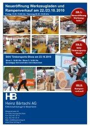 Hit 1 - HB Heinz Bärtschi AG