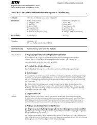 Sitzung 4/03 vom 21.10.03 - Departement Bau, Umwelt und Geomatik