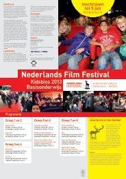 Groep 5 en 6 - Nederlands Film Festival