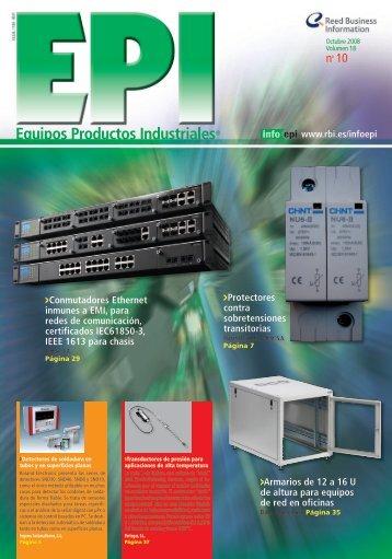 Equipos Productos Industriales nº 10 - PLC Madrid Formación