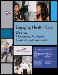 Engaging Health Care Users - Washington State Hospital Association