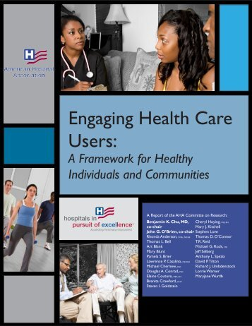 Engaging Health Care Users - Washington State Hospital Association