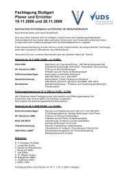 091026_Fachtagung Planer und Errichter am 19.11. + 20.11.2009 in ...