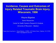 Incidence, Causes and Outcomes of Injury Related Traumatic Brain ...