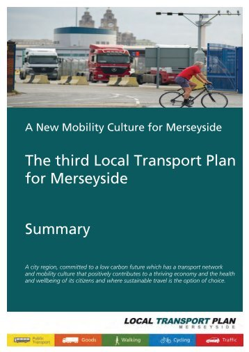 Summary - the TravelWise Merseyside website