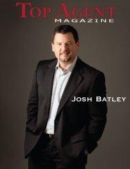 Josh Batley - Top Agent Magazine