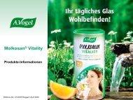 Natürliche Argumente für Molkosan® Vitality ... - Verlag A.Vogel AG
