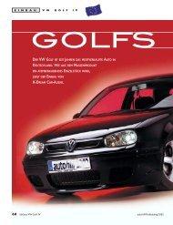 der vw golf ist seit jahren das meistverkaufte auto in deutschland ...