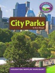 Lesson 18:City Parks