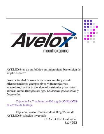 Cápsula Avelox.pub (Read-Only) - Bayer Schering Pharma