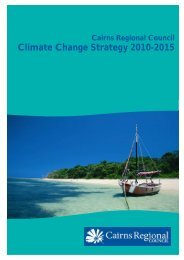 Climate Change Strategy 2010 - Cairns Regional Council ...