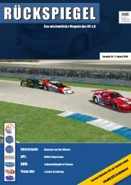 Interessant: GPL: DOM: Trans Am: - Virtual Racing eV