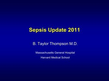 Approach To Sepsis 2008