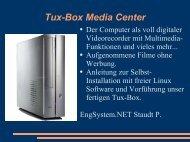 Tux-Box Media Center