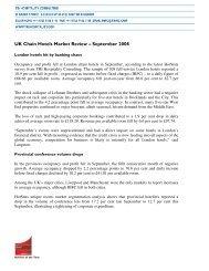 UK Chain Hotels Market Review – September 2008 - Hotel Designs