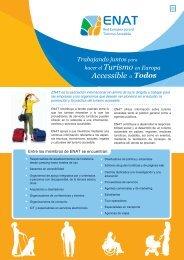 Turismo en Europa Accessible - European Network for Accessible ...