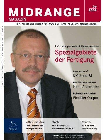 Spezialgebiete der Fertigung - Midrange Magazin