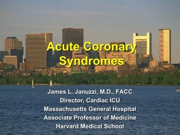 Acute Coronary Syndromes: Pathophysiology, Recognition ...