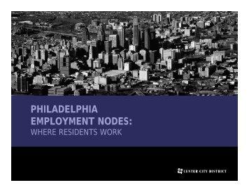 Philadelphia Employment Nodes: Where Residents Work