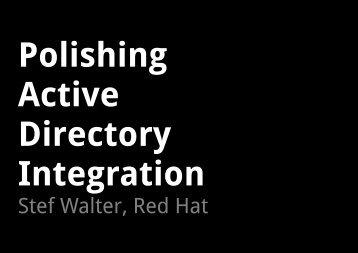 Stef Walter PDF - sambaXP
