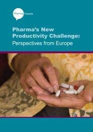 Pharma's New Productivity Challenge: Perspectives ... - Pharmafutures