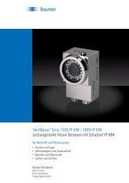 VeriSens® Serie 1500-IP 69K / 1800-IP 69K – Leistungsstarke ...