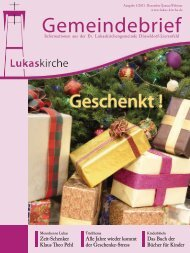 Wunsch- zettel - Evangelische Lukaskirchengemeinde Düsseldorf ...