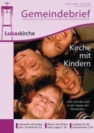 Kirchenbuch - Evangelische Lukaskirchengemeinde Düsseldorf ...