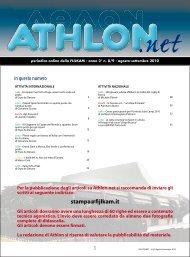 Athlon Net settembre 2010 - Fijlkam