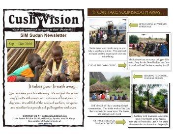 SIM Sudan Newsletter September-December 2010 - World ...