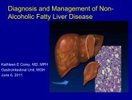 Diagnosis and Management of Non- Alcoholic Fatty Liver Disease