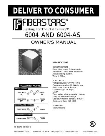 deliver to consumer fiberstars pool and spa?quality=85 rm 6000 remote control system fiberstars pool and spa Fiberstars 6004 at bayanpartner.co